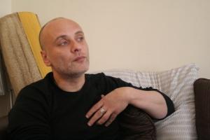 Ibrahim at his home