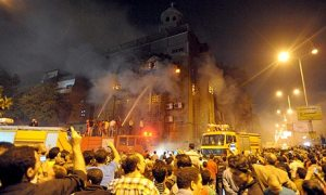 Church burned in Cairo