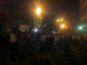 Copti protestano davanti alla TV egiziana. Maggio 2011