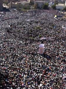 Tahrir Saquare. February 2011