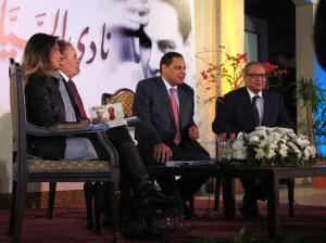 """Al Aswany all'opera de Il Cairo per la presentazione """"Nadi el Sayyarat"""""""