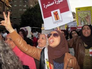 Marcia delle donne a il Cairo 13