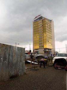 Nuove costruzioni ad Addis Abeba