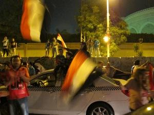 Manifestazioni contro Morsi davanti al palazzo presidenziale il 29 giugno 2013