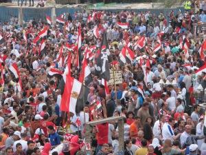 Parte di pz. Tahrir il 30 giugno 2013